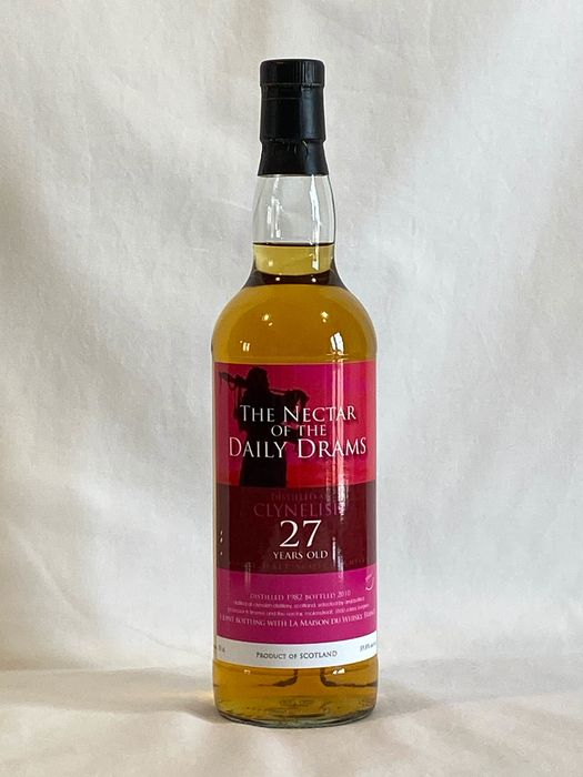 Clynelish 1982 27 years old - the Nectar of Daily Dram & la Maison du Whisky - b. 2010 - 70 cl