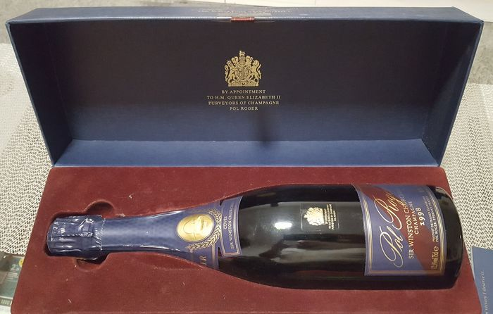 1998 Pol Roger Cuvee Sir Winston Churchill - Champagne Brut - 1 Bouteille (0,75 l)