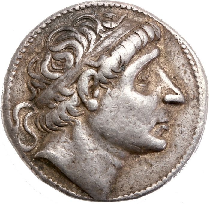 Greece (ancient) - Seleukid Empire. AR Tetradrachm, Antiochos I (281-261 BC), Seleucia on the Tigris