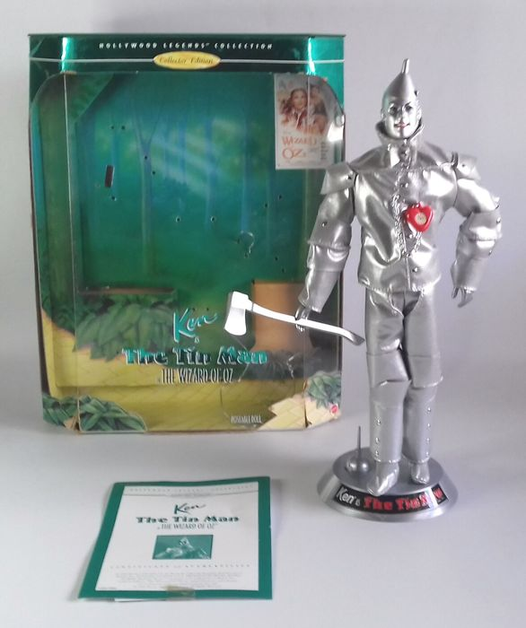 "The Wizard of Oz (1939) - Mattel, Hollywood Legends Collection  - Figurine(s) Ken as ""The Tin Man"""