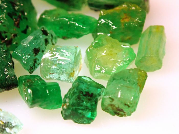 Lot of Precious Colombia Emerald Cristal's, Untreated 43,490ct - 8.698 g