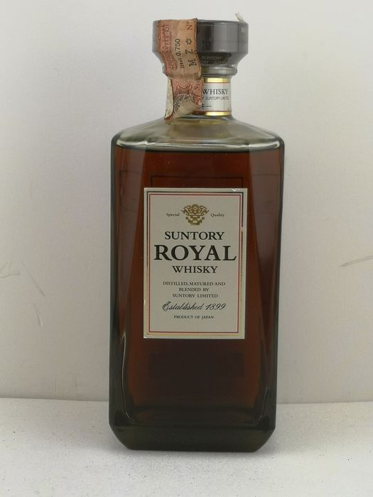 Suntory Royal - Original bottling - b. 1980s - 70cl