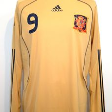 Spanish National Football Team 2007-2008 match-issued - Fernando Torres - Maglietta/e
