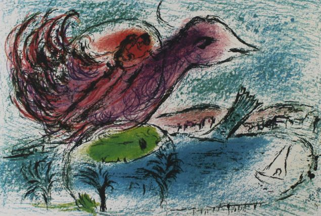 Marc Chagall (after) - La Baie