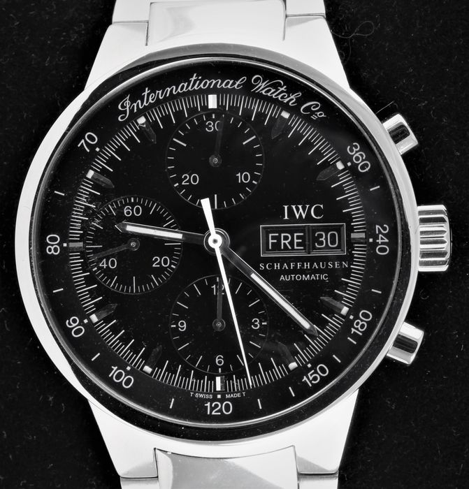 IWC - GST - Automatic Chronograph - Ref. No: IW3707-08  - Excellent Condition - Warranty - Uomo - 1990-1999