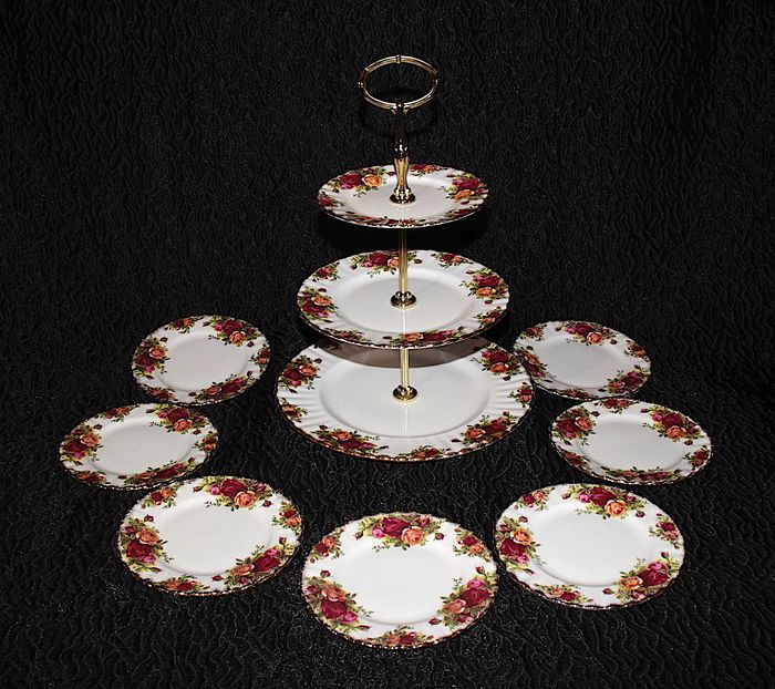 Royal Albert - Theeservies voor 6 (10) - Porselein