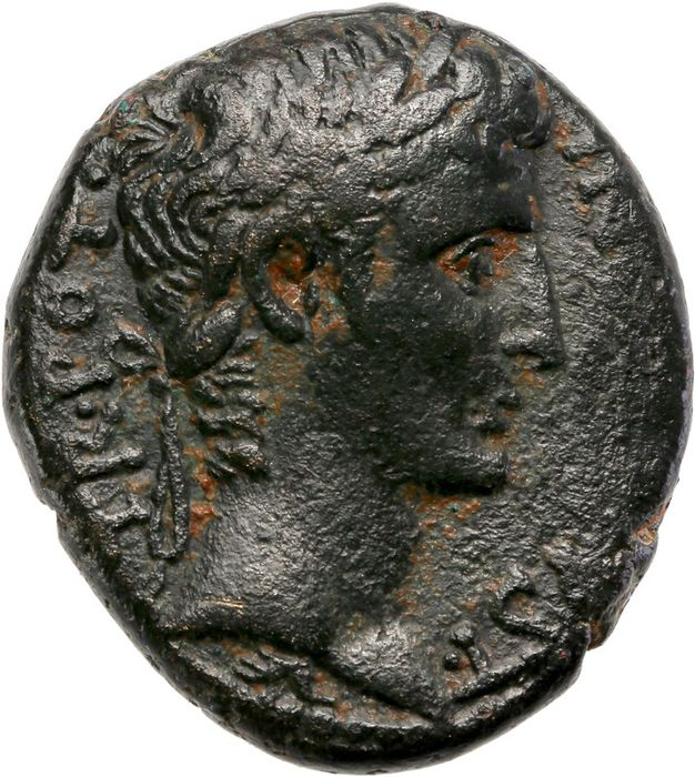Roman Empire - AE, Augustus (27 BC-AD 14). after 23, Antioch