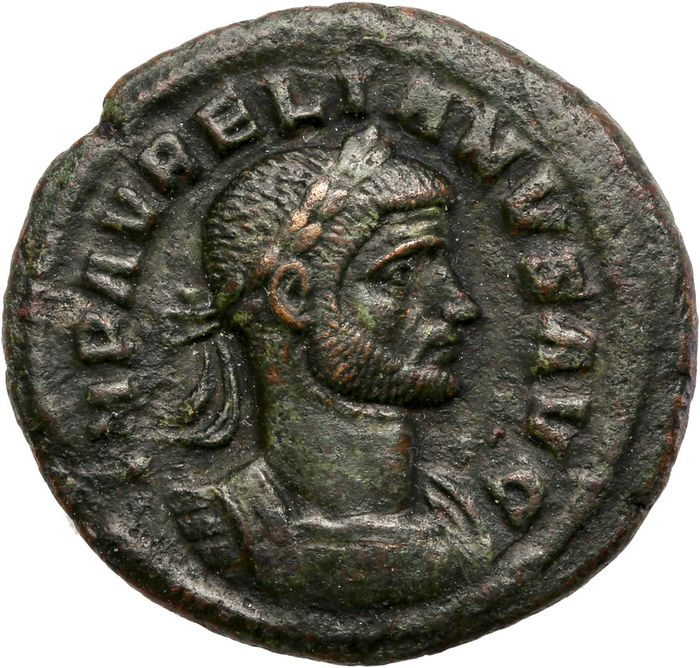 Roman Empire - Æ As, Aurelian (AD 270-275). Rome - Concordia