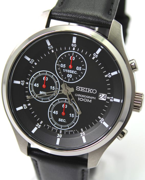 Seiko - 'NO RESERVE PRICE' Chronograph - New & Boxed - Heren - 2011-heden