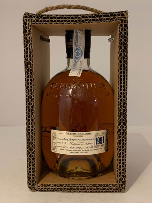 Glenrothes 1991 15 years old - b. 2006 - 70cl