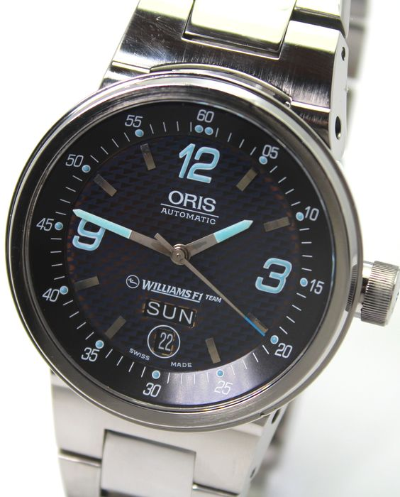 """Oris - Williams F1 Automatic Day/Date - 7560  """"NO RESERVE PRICE"""" Excellent condition - Herren - 2000-2010"""
