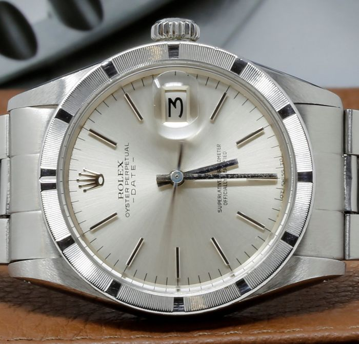 Rolex - Oyster Perpetual Date - 1501 - Heren - 1970-1979