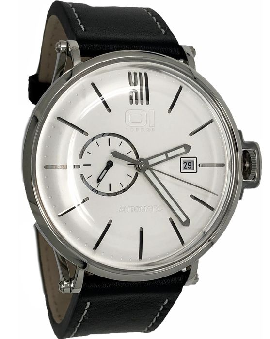 """01 The One - Automatic Retro Watch White Dial Stainless Steel - A104L2 """"NO RESERVE PRICE"""" - Herren - 2011-heute"""