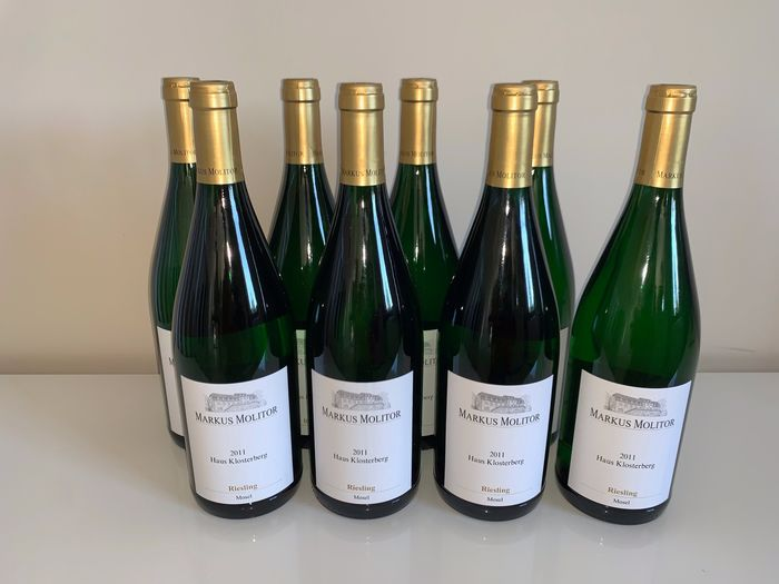 2011 Markus Molitor - Haus Klosterberg Riesling - Mosel - 8 Litre (1.0L)