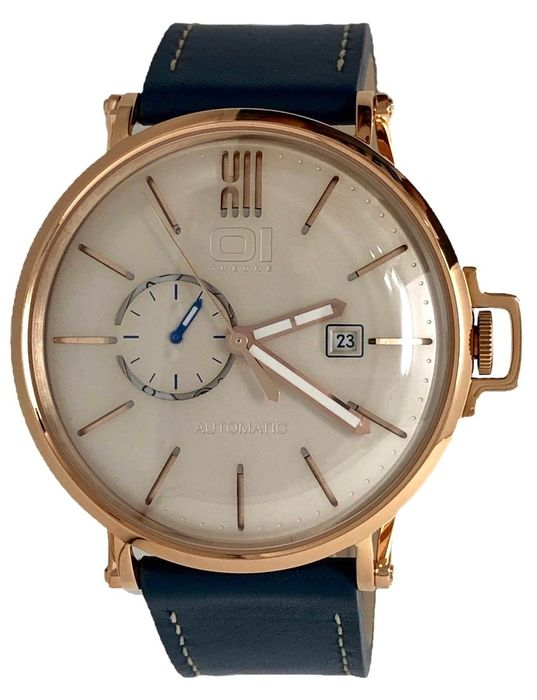 "01 The One - Automatic Retro Watch Blue Dial Rose Gold  - A304L5 ""NO RESERVE PRICE"" - Herren - 2011-heute"
