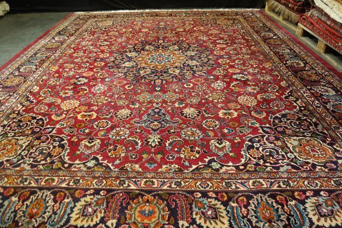 Meshed - Iranian Meshed Carpet - 406 cm - 310 cm