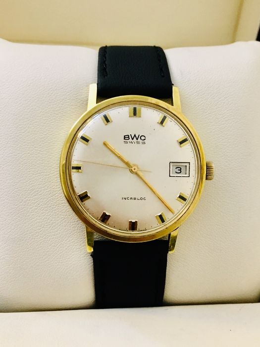 BWC-Swiss - Manual Winding, NOS - 17 Jewels, Gold Plated - Homme - 1970-1979