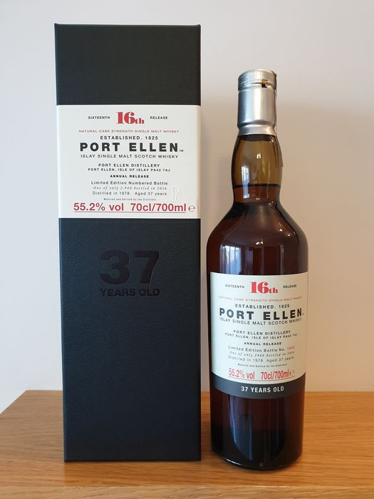 Port Ellen 1978 37 years old 16th Release - Original bottling - 70 cl