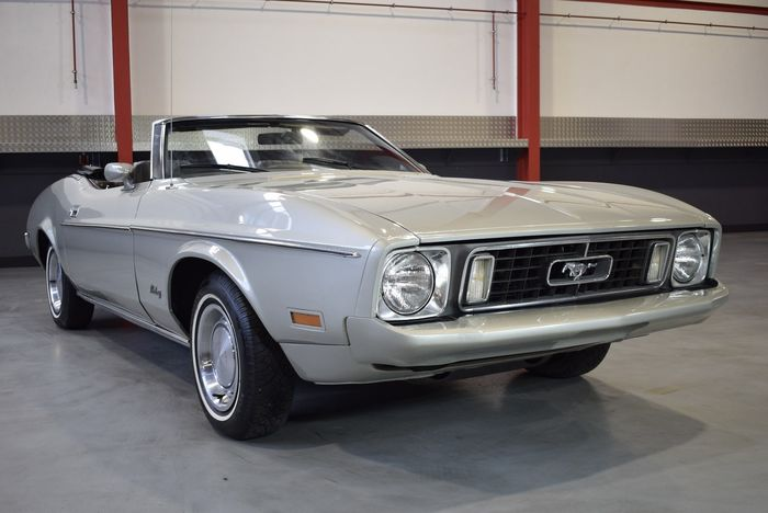 Ford - Mustang Convertible 351CI V8 H-Code - NO RESERVE - 1973