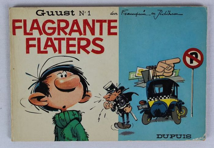Guust Flater 1 - Flagrante flaters - Broché - EO - (1966)