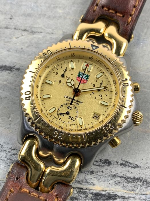 TAG Heuer - Professional 200M Chronograph - CG1121-0 - Heren - 1990-1999