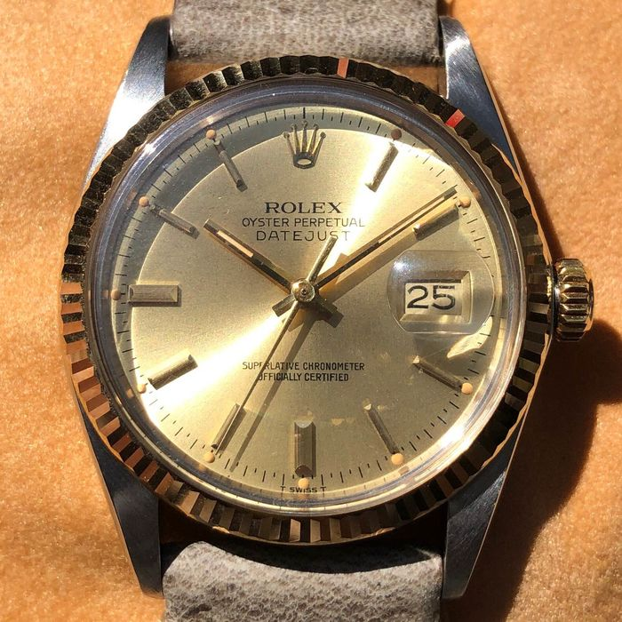 """Rolex - Oyster Perpetual Datejust - 16013 """" NO RESERVE PRICE """" - Unisexe - 1980-1989"""