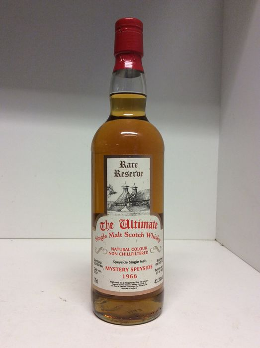 Mystery Speyside 1966 46 years old The Ultimate Rare Reserve  - b. 04-10-2012 - 70 cl