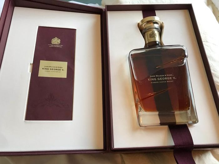 Johnnie Walker King George V - Original bottling - 700 ml