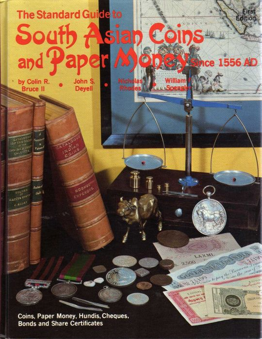 Libro - 1st edition - The Standard Guide to South Asian Coins and Paper Money Since 1556 AD