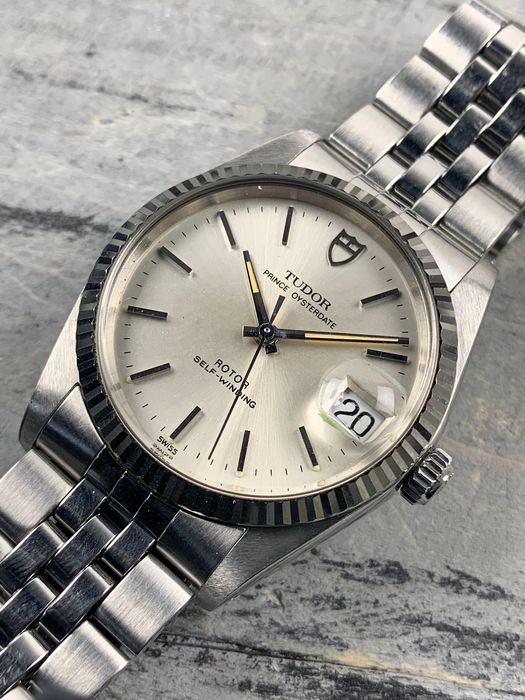 Tudor - Prince Oysterdate Automatic - 74034 - Heren - 2000-2010