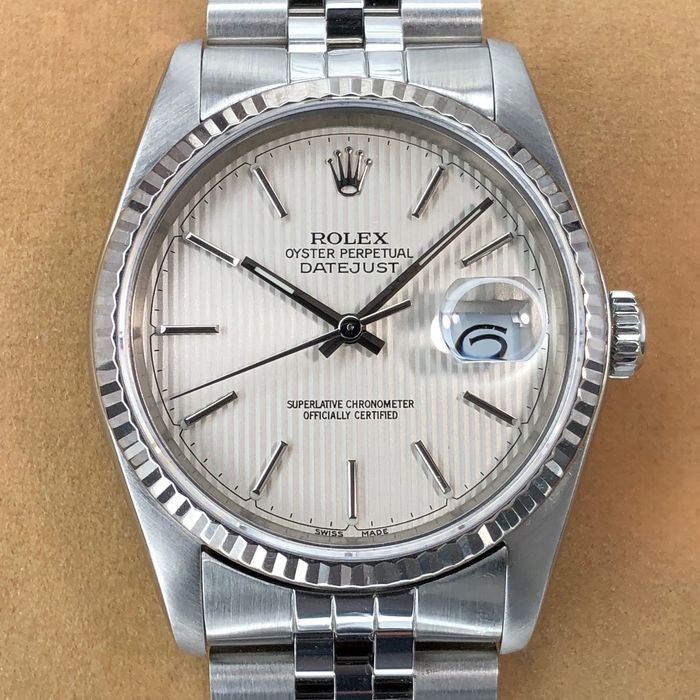 Rolex - Datejust Tapestry Dial - 16234 - Heren - 1980-1989