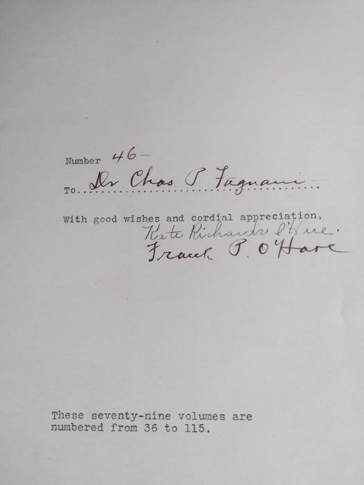 Signed, Kate Richards O'Hare - Dear Sweethearts (No. 46 of 75 numbered copies)  - 1919/1920