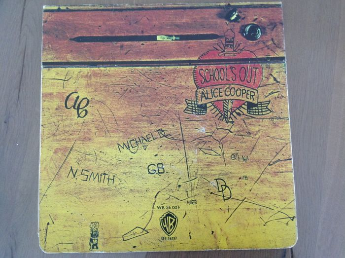 Alice Cooper - School's Out - Limited edition, LP Album - 1972/1972