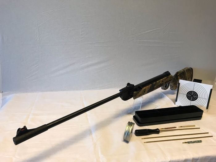 Türkei - Sniper Sport Series - Classic Camouflage + Cleaning kit + Kogels + Kogel vanger - Break Barrel - Luftgewehr - 5.5 Pellet Cal