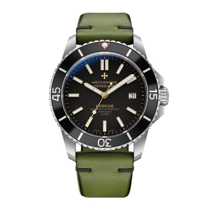 Meccaniche Veneziane - Automatic Watch Nereide Swiss Exclusive Colour with Italian Leather Strap - 1202021 - Herren - 2011-heute