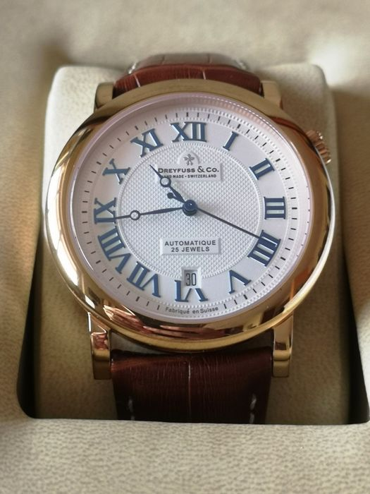 Dreyfuss & Co. - Series 1925 Limited Edition Rose Gold Plated - Ref. 909566 - No. 0532 - Homme - 2011-aujourd'hui