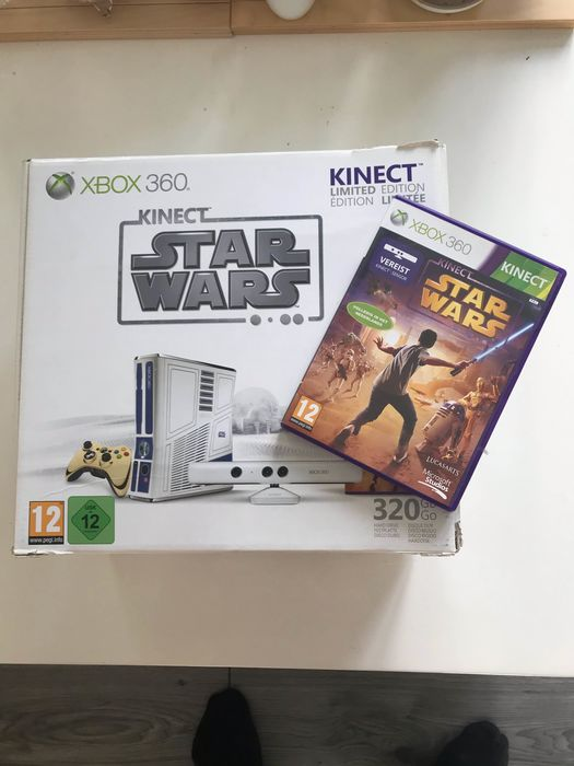 1 Microsoft Xbox360 Star Wars Edition - Console with games (1) - Στην αρχική του συσκευασία