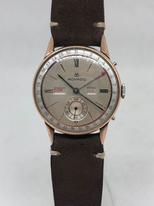 Movado - day-date - Unisex - 1950-1959
