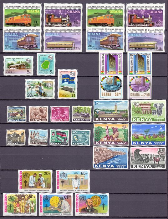 Britse Gemenebest 1960/1990 - Collection old GB Colonies