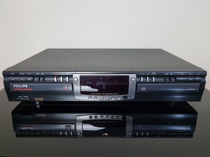 Philips - CDR-765 - Cd-recorder