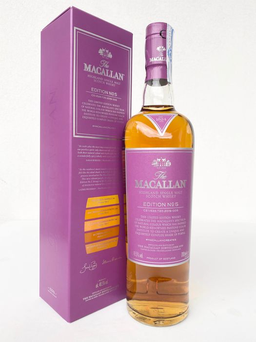 Macallan Edition No.5 - Original bottling - 700ml