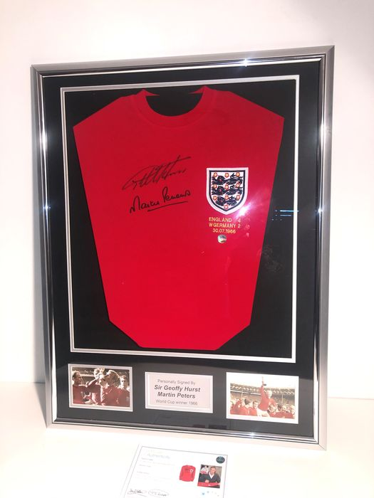 England  - Football World Championships - Geoff Hurst And Martin Peters - 1966 - Jersey
