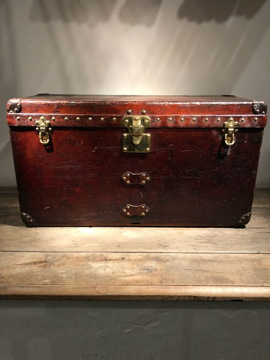 Louis Vuitton - Trunk, Louis Vuitton - Leather - Circa 1900