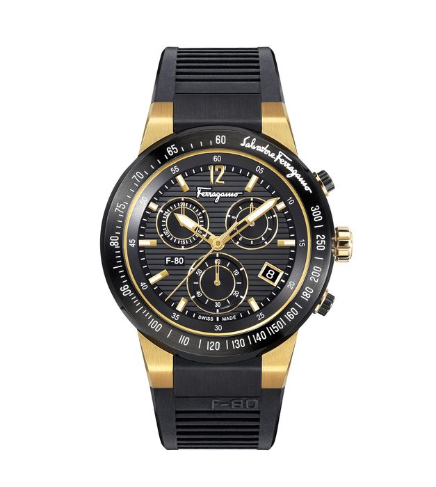 Salvatore Ferragamo - F-80 Chronograph Swiss Made - SFDL00318 - Heren - 2011-heden