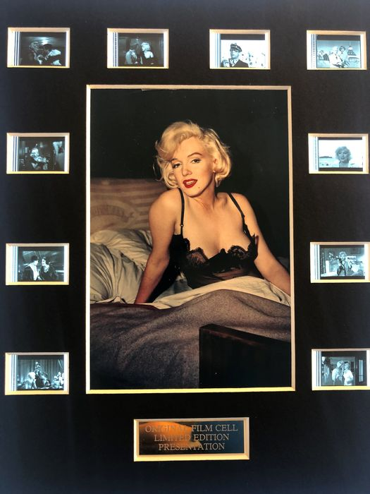Some Like It Hot - Marilyn Monroe - Film Cell Display
