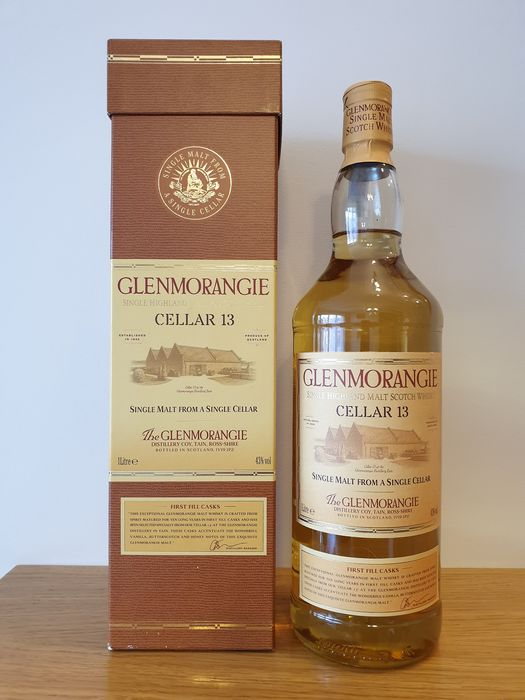 Glenmorangie Cellar 13 - Original bottling - 1 liter