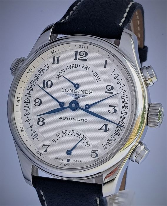 Longines - Master Collection Retrograde - NO RESERVE PRICE - Homem - 2011-presente