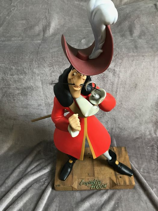 Walt Disney - Large Statue - 70cm - Captain Hook - (2002)