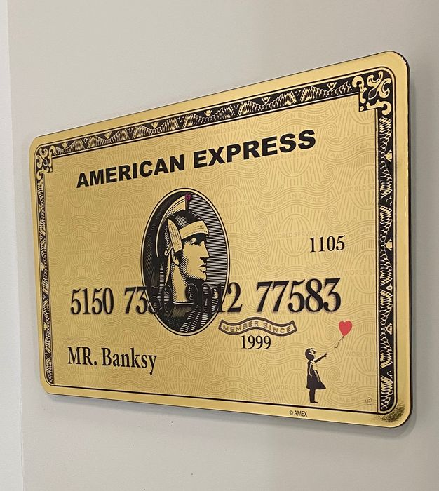 Van Apple - Amex - MR. Banksy