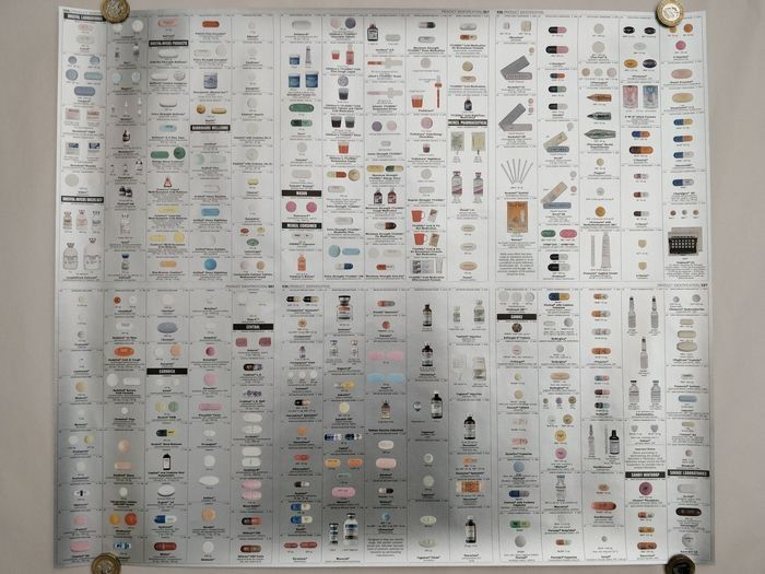 Damien Hirst - Pharmacy Panel (Silver)